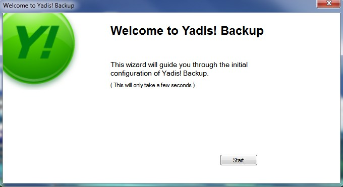 Back-up wizard