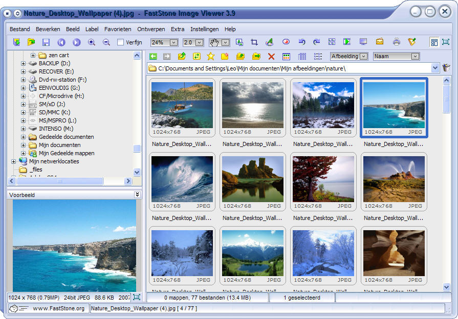 Faststone Image Viewer Software