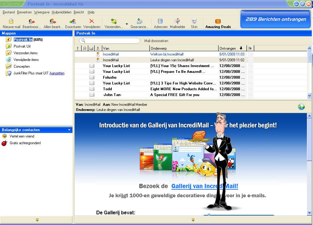 gratis mail